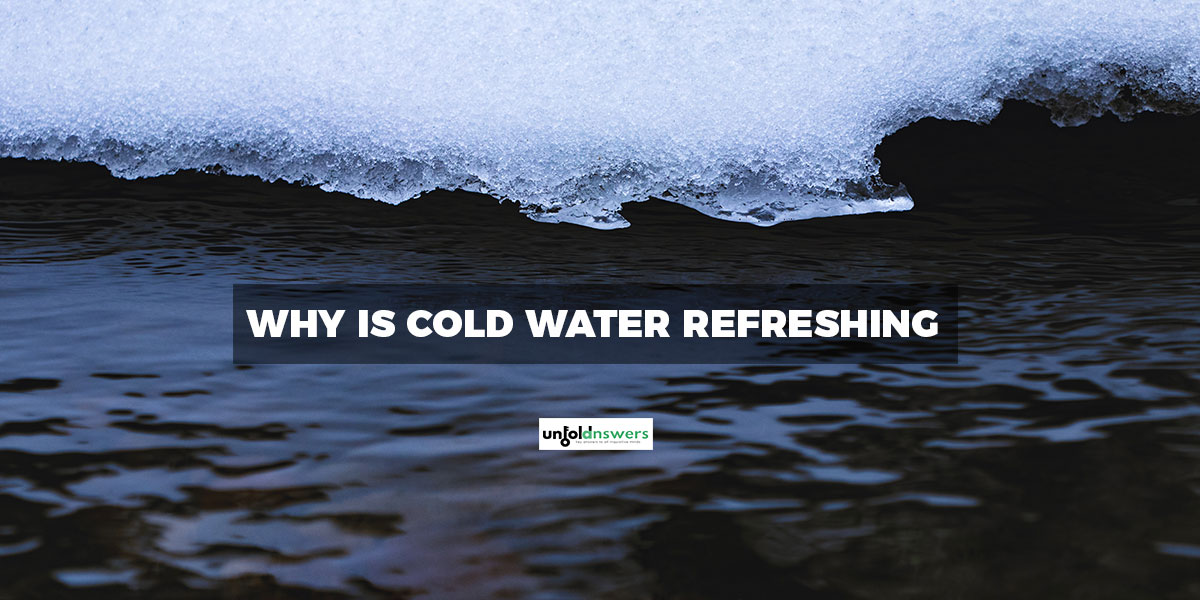 Refreshing Cold Water